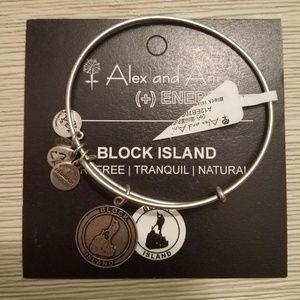 NWT ALEX and ANI Block Island Bangle Bracelet